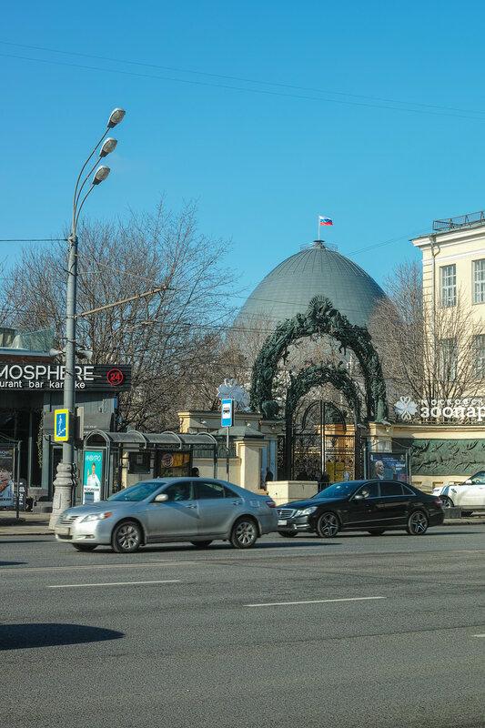Москва. Планетарий.