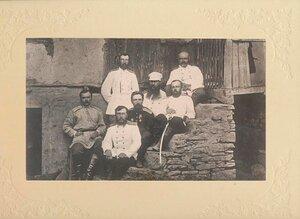 Штаб 14 Дивизии (Тырново июль 1877 г.)..