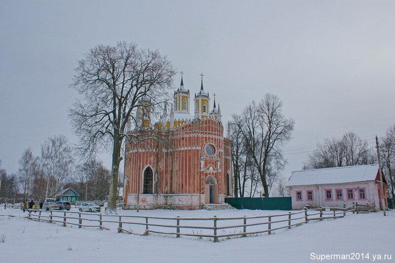 село Красное - Храм Преображения Господня