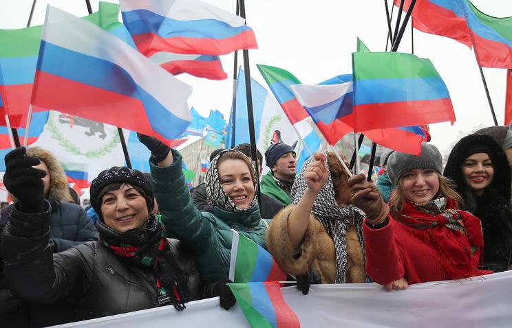 Д. Медведев поздравил граждан России сДнем народного единства