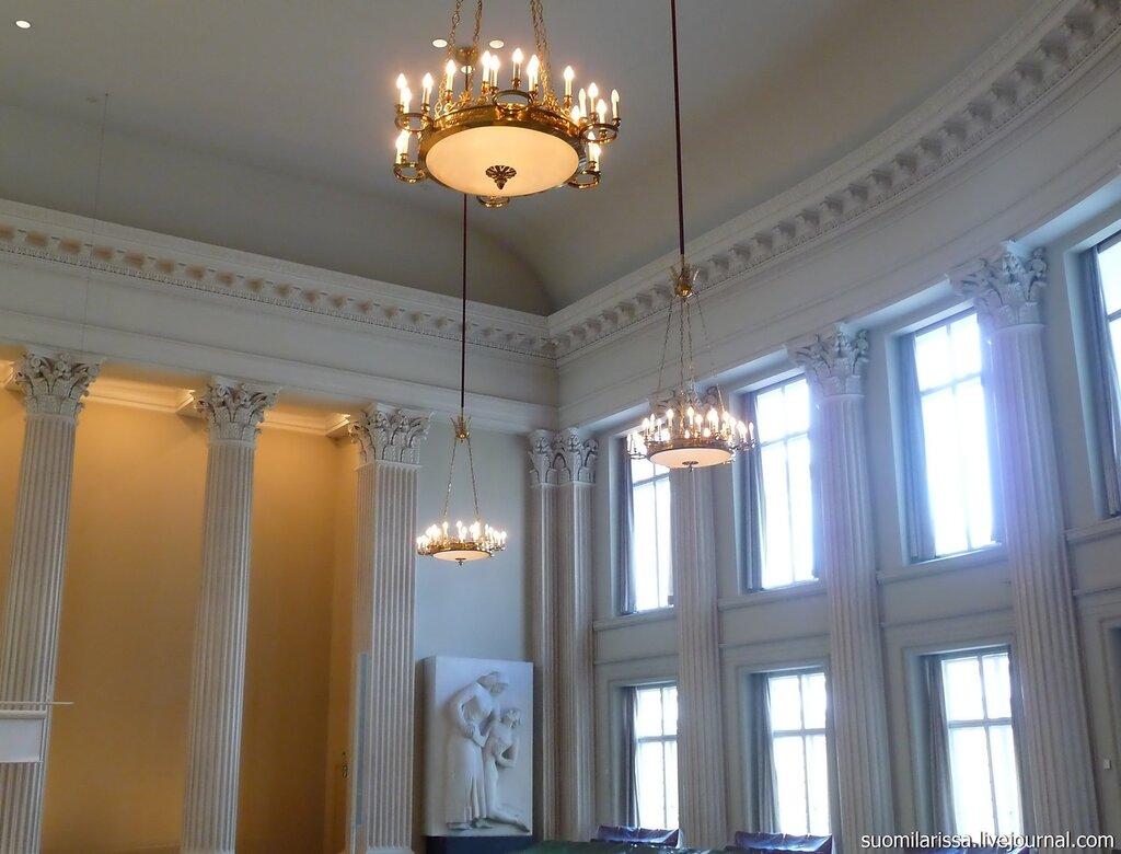 Хельсинкский университет. Главное здание. Актовый зал.