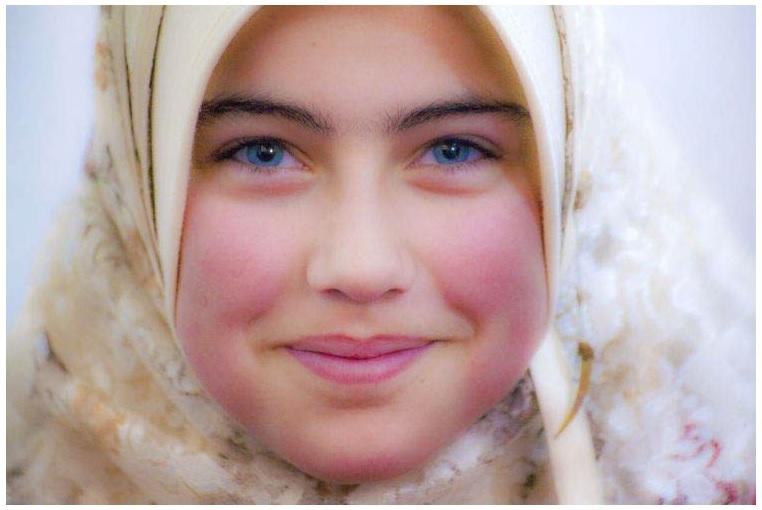 Сирийская девочка. 2008