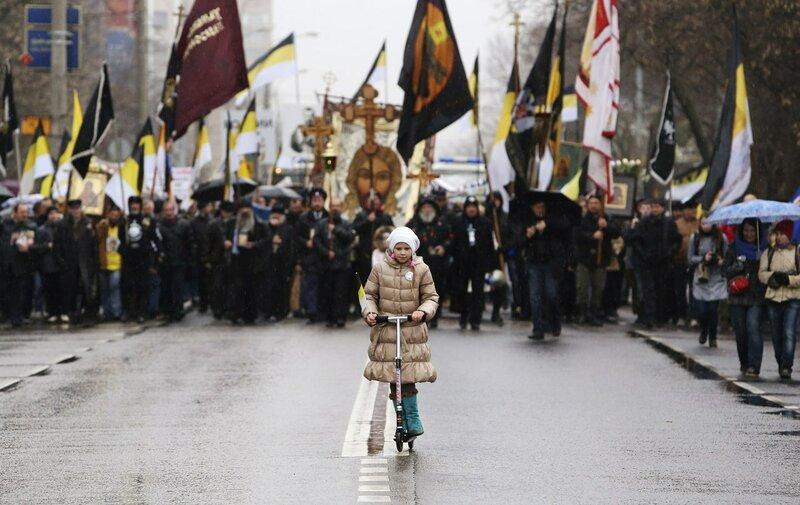 Царский Русский Марш. Шествует к монархии