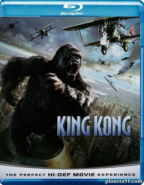 Кинг Конг / King Kong [Extended & Theatrical] (2005/BDRip/HDRip)