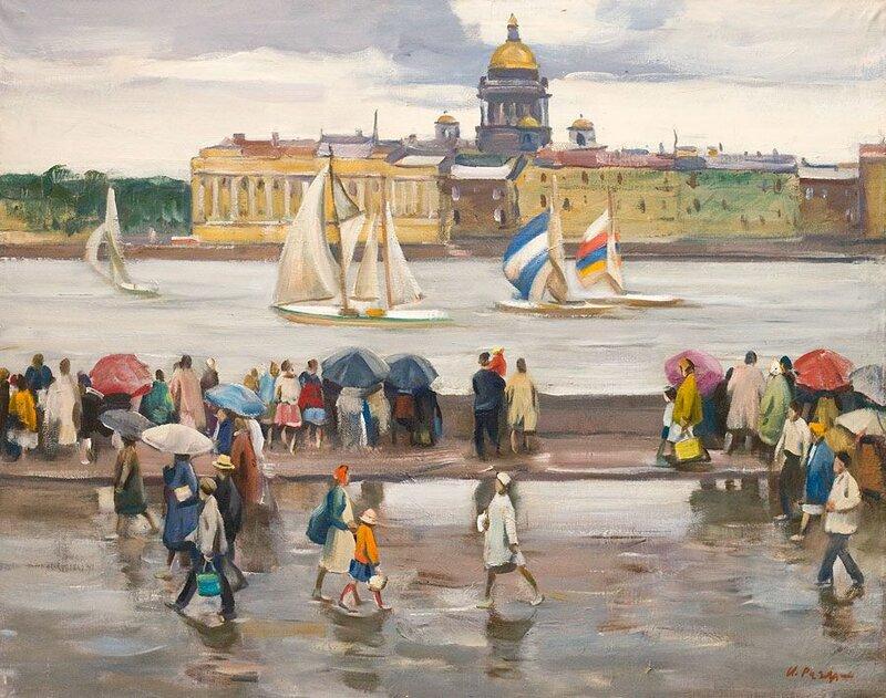 Раздрогин Игорь Александрович (род. 1923, Петроград). Додждливый день, 1961
