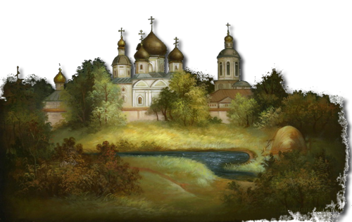 Купола Росси-федоскинская миниатюра