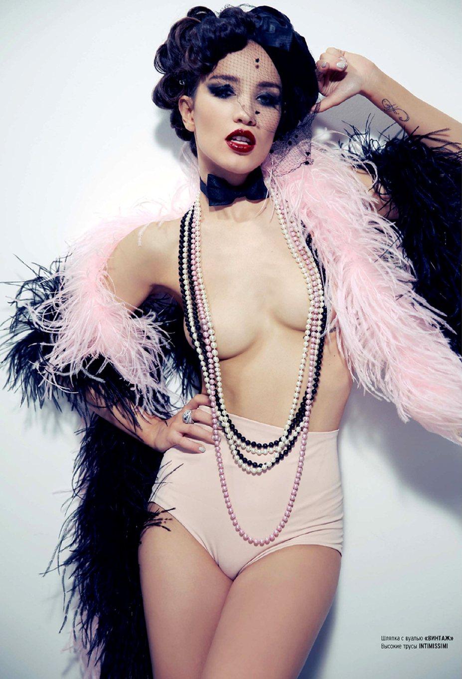 Виктория Дайнеко в журнале Playboy Россия, сентябрь 2013