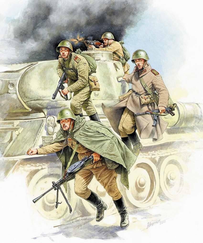 Рисунки военного художника