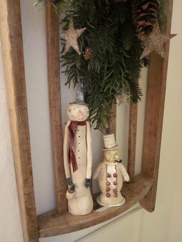 винтажные снеговики