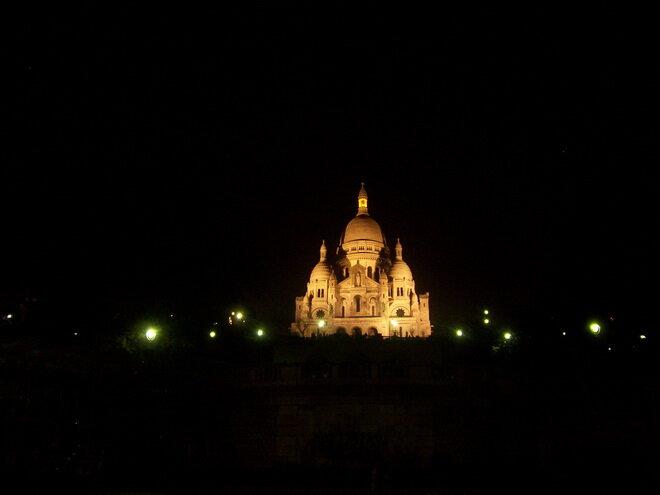 Базилика Сакре-Кёр. Париж