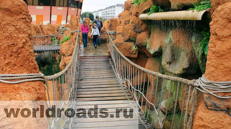 Парк Юрского периода в Джубге