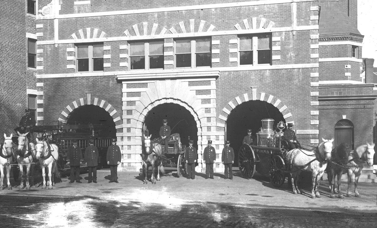 Пожарная станция, площадь Вашингтона