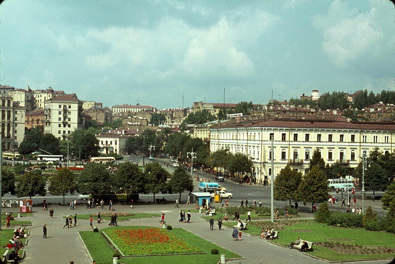 Киев. Площадь Калинина