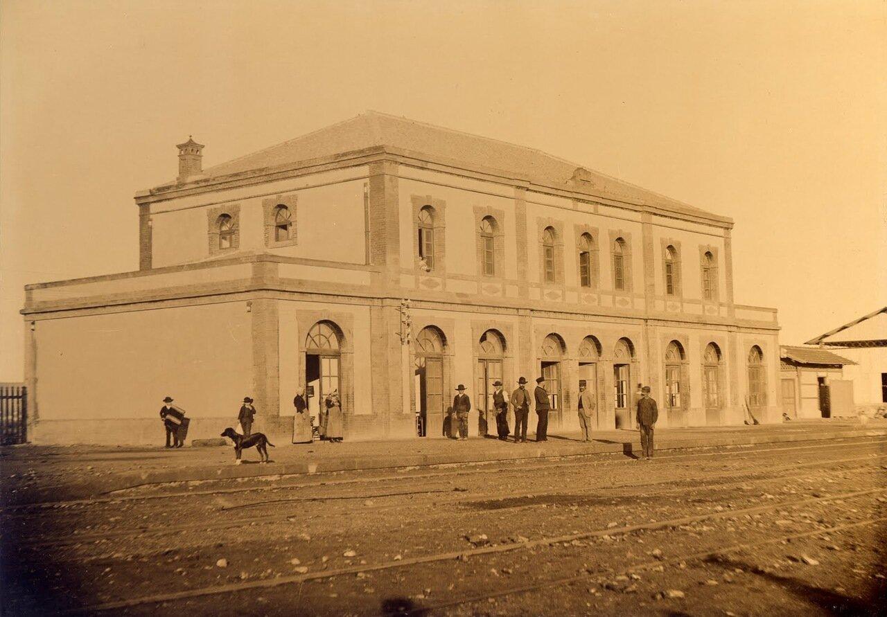 Фрехеналь-де-ла-Сьерра. Станция 2-го класса.