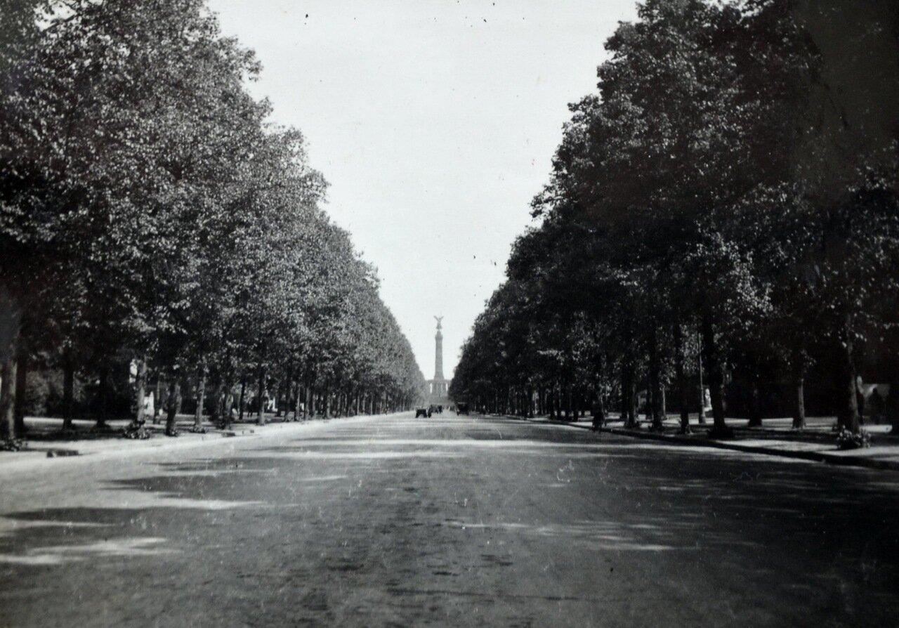 Берлин, Аллея Победы. 1933
