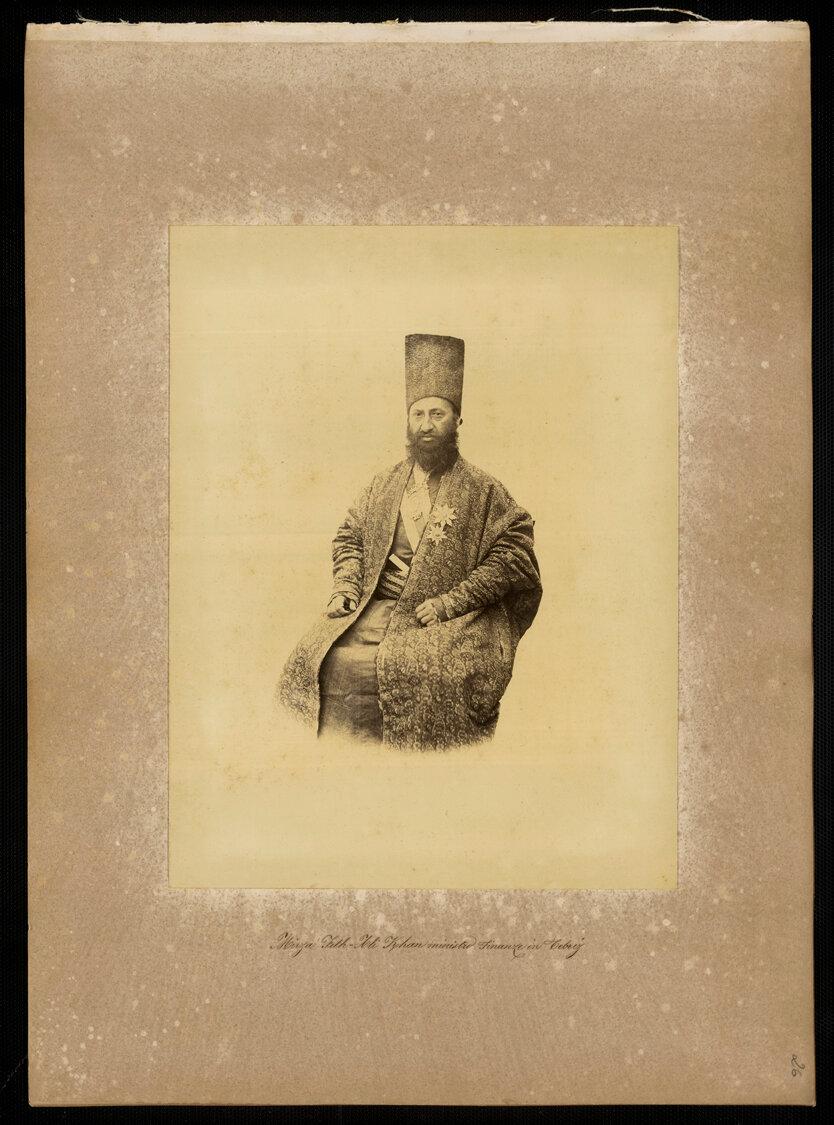 Персия. Мирза Фет-Али-хан, министр финансов