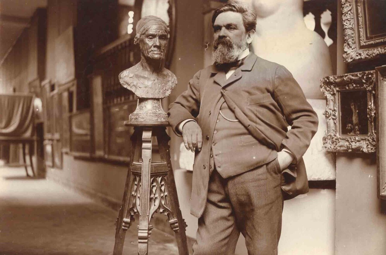 Альфред Буше (1850 - 1934), скульптор