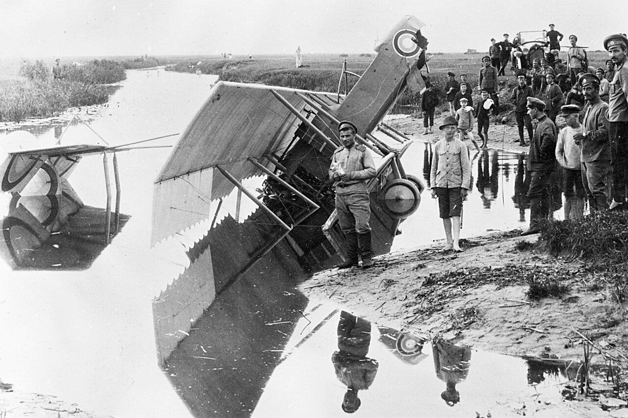 1917. Авария прапорщика Попова