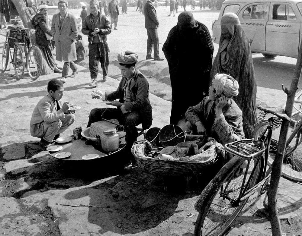 Афганистан, Кабул. Уличная сцена