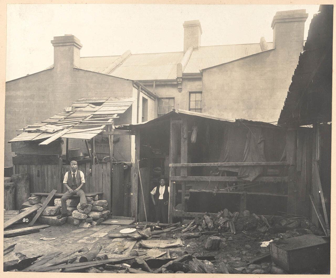 Дом № 50 по Вексфорд-стрит (со двора), китайские трущобы
