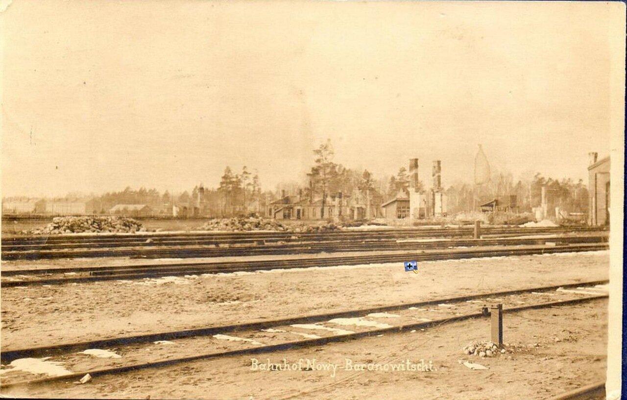Развалины вокзала