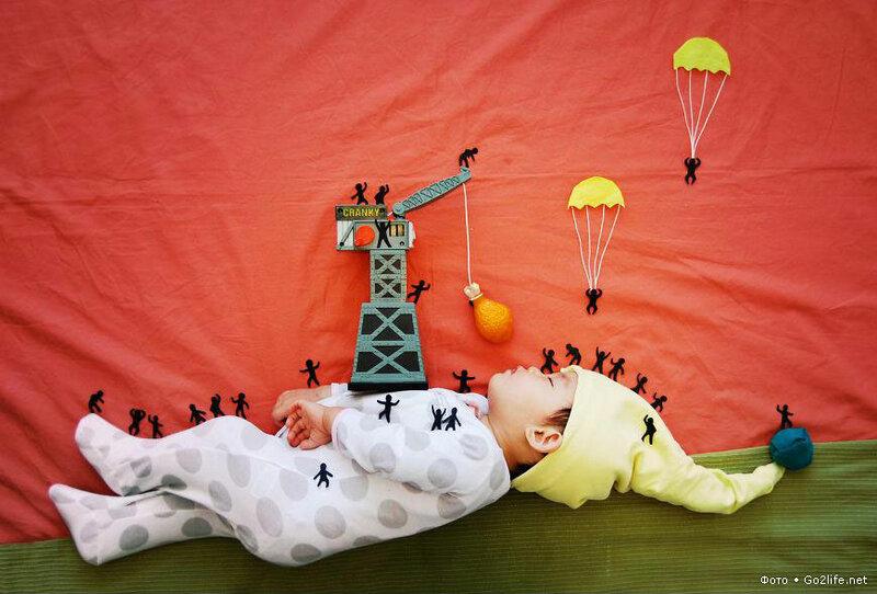 Мама превратила сон ребенка в мечтательные приключения