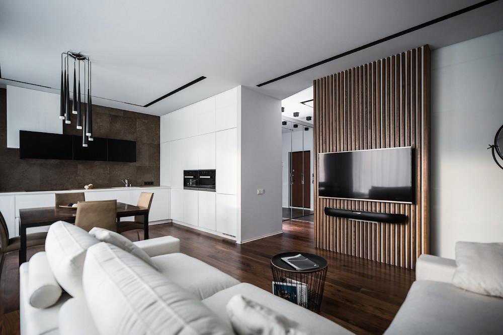 Дизайн квартиры для молодой семьи в Санкт-Петербурге