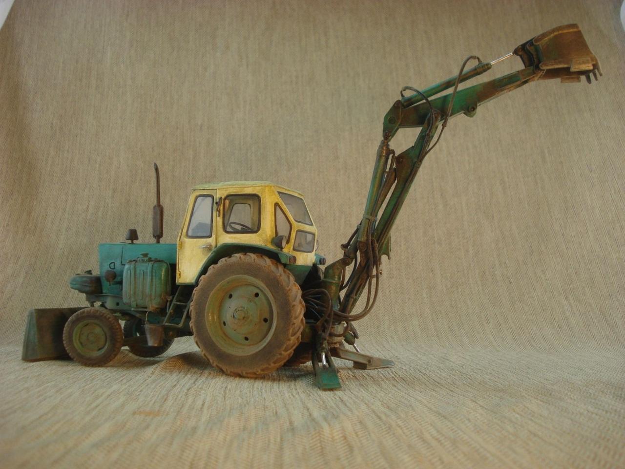 Как сделать поделку трактор своими руками