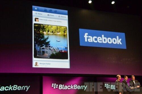 Facebook готовится к поглощению BlackBerry