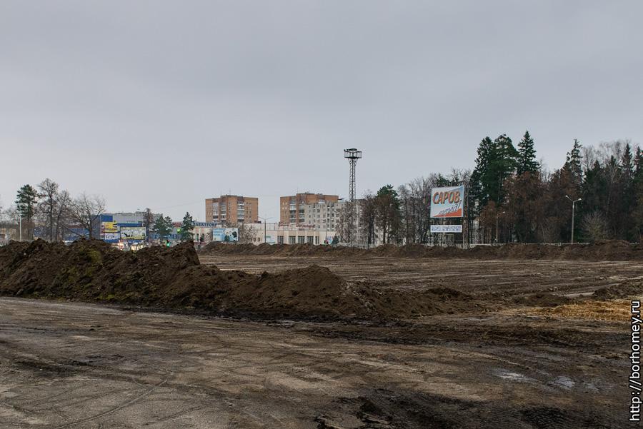 стадион икар без газона