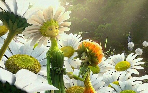 Мультфильмы про цветы