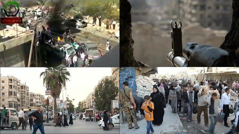 Десятки сирийцев погибли во время взрыва под Дамаском