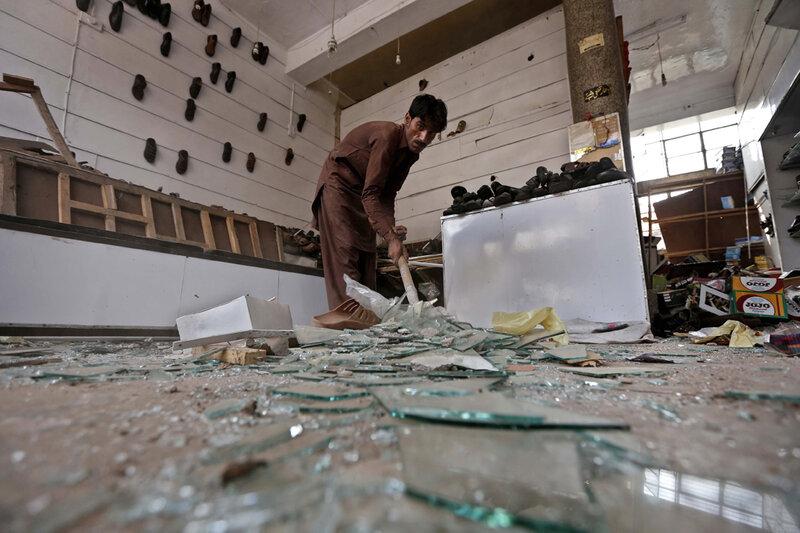 PAKISTAN CONFLICT BOMB BLAST