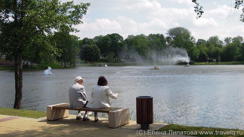 Друскининкай. Озеро Друсконис