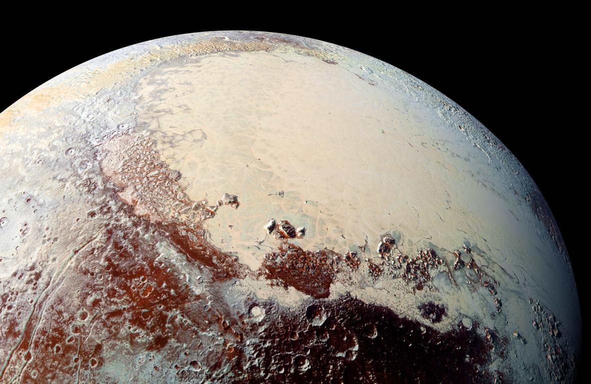 Ученые составили новые глобальные карты Плутона и Харона равнины, Плутона, Спутника, карты, поверхности, Харона, системы, вдоль, демонстрируют, участки, водяного, Тенцинга, следы, весьма, снимки, около, достигает, также, несколько, после
