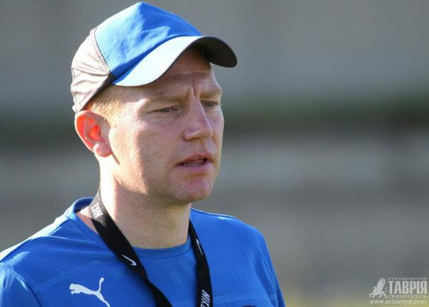 Адам Седлер - главный тренер Таврии U-21