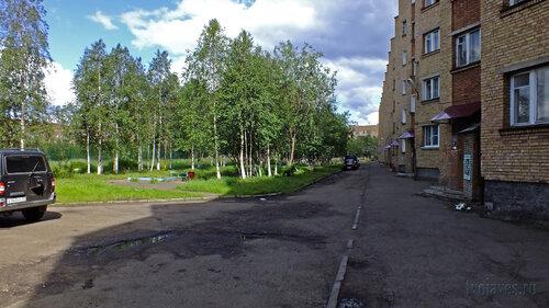 Фото города Инта №5122  Двор (северная сторона дома) Куратова 24 14.07.2013_13:49