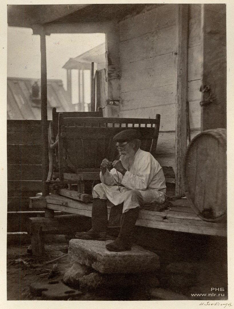 Казак, продающий цымлянское вино. 1875-1876