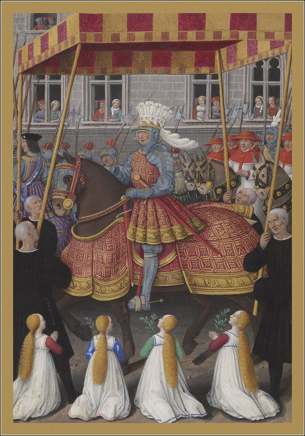 Jean Bourdichon, ean Marot, Le Voyage de Gênes