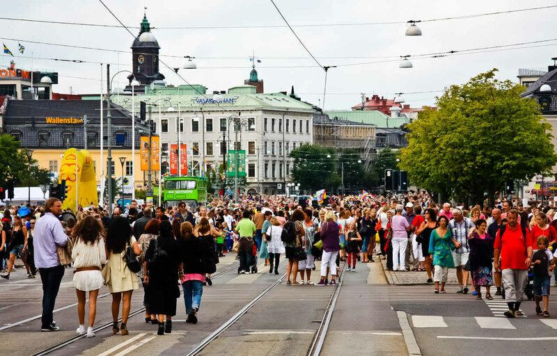 Швеции. Гётеборг