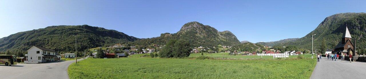 West Norway, Røldal. Mountains. panorama