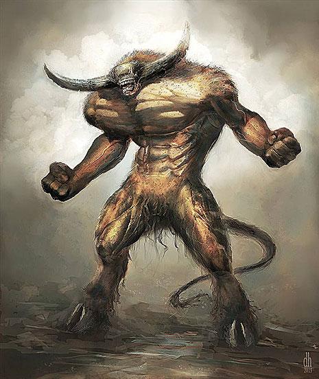 12 знаков Зодиака в образах чудовищных монстров (фото 2)