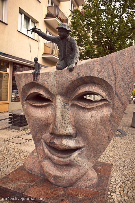 Белосток, Польша, Białystok, Скульптуры в Белостоке