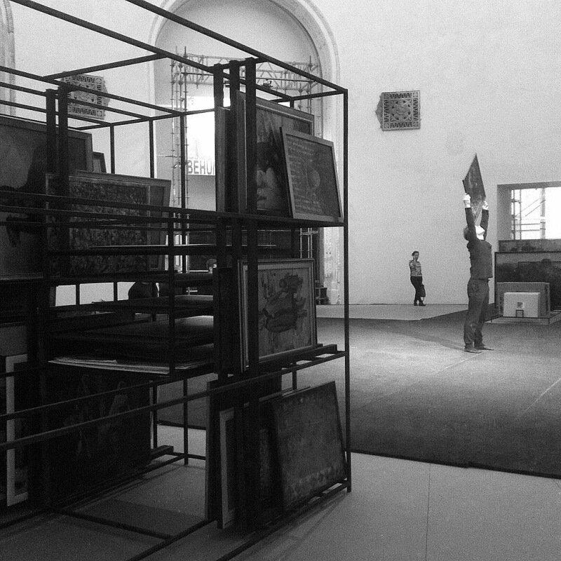 Перформенс Таус Махашевой про дагестанское искусство