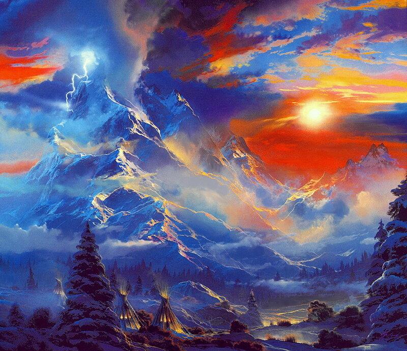Всю мощь земли увидеть можно...Фантастические горные ландшафты от Dale Terbush