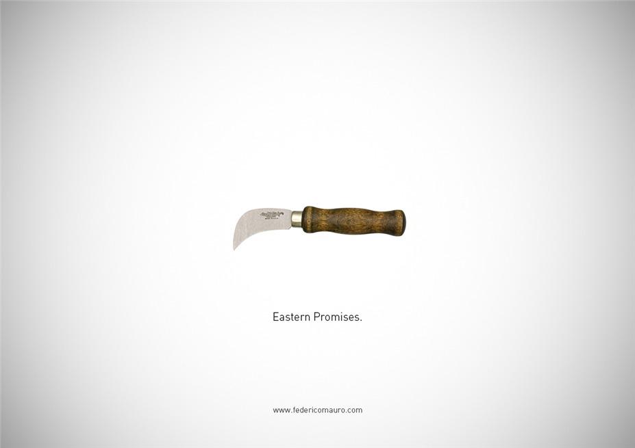 Знаменитые клинки, ножи и тесаки культовых персонажей / Famous Blades by Federico Mauro - Eastern Promises