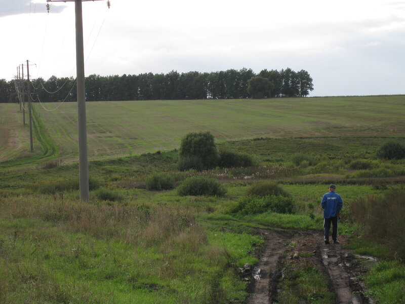 Дорога на речку Ендову