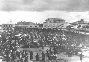 Базар на Соборной площади