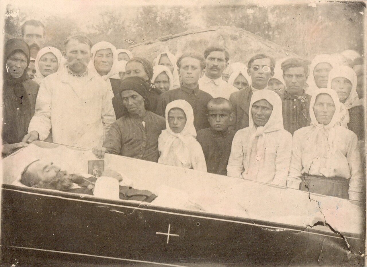 Похороны Федота А. Благовистного 1927.