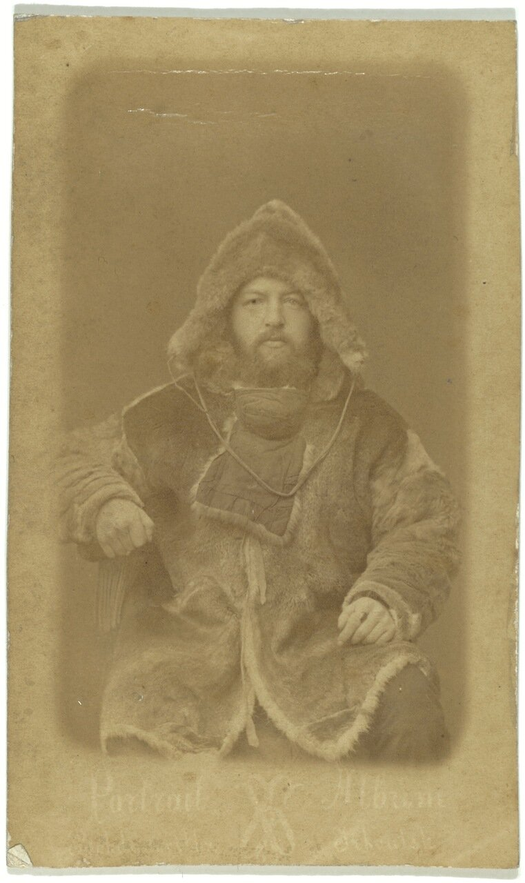Бунге, Александр Александрович, полярный исследователь. Снимок сделан в Иркутск